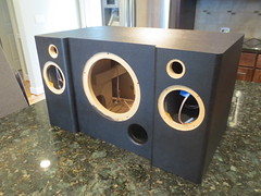 Boombox finished with DuraTex (burritobrian) Tags: diy speaker boombox overnightsensations speakerbuild sd215a88