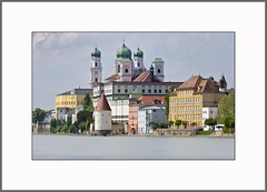 Stadt der Trme  Town of Towers) (alfred.hausberger) Tags: bayern bavaria inn dom trme passau niederbayern dreiflssestadt updatecollection