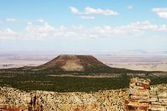 Flat Mountain (Daniel Romaikin) Tags: arizona cactus sky mountain green beautiful grass weather yellow clouds photography sand colorful desert flat dry grand canyon
