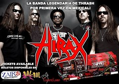 HIRAX Confirms to play Mexicali Baja California for the first time! Saturday, May 25, 2013. (HIRAX Thrash Metal) Tags: california music concert destruction band itunes hollywood metallica baja slayer mekongdelta thinlizzy dri v8 sod anthrax mexicali overkill exodus helloween sepultura megadeth venom suicidaltendencies riff metalchurch kreator testament annihilator nuclearassault municipalwaste voivod hermtica celticfrost mercyfulfate metalbladerecords maln spvrecords