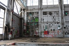 Film production graffiti among the rest (tomman) Tags: railroad yards urban yard train foundry factory decay albuquerque rail tvshowlocation railyard boiler filmlocation revitalize macgruber breakingbad terminatorsalvation
