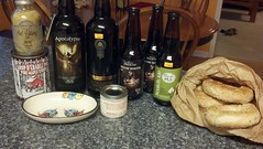 Loot from Montreal! (tlkativ) Tags: beer spices bagels