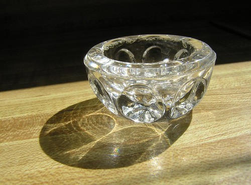 Thumbprint Salt Cellar