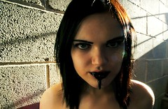1 (ladeeeeda) Tags: portrait monster self dark creepy gross gore horror creature sludge nasty