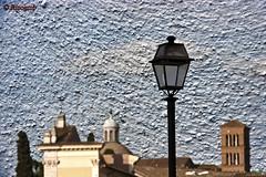 One street lamp (Rinogmb) Tags: italy rome roma texture italia givemefive mygearandme ringexcellence blinkagain