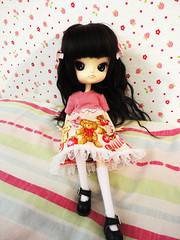 [Home?] (naka~) Tags: cute aya doll dal planning wig kawaii groove pullip custom nihon jun puki leeke obitsu 23cm jdoll softbust