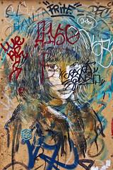 C215 Barcelona (Air'Soul) Tags: barcelona street streetart art colors graffiti stencil rue barcelone pochoir artderue c215