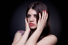 Ara (vinyets) Tags: portrait beauty women ara bellesa dona retrat