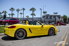 1UV1A6971 (Lamborghini Houston) Tags: yellow s racing porsche cayman boxster lamborghini boxsters lamborghinihouston porscheofnorthhouston indigoautogroup