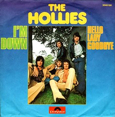45 - Hollies, The -  I'm Down - D - 1974 (Affendaddy) Tags: germany 1974 polydor thehollies imdown vinylsingles collectionklaushiltscher 1960sbeatandpop helloladygoodbye 2040130