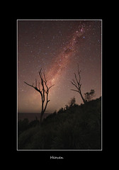 Heaven (EmeraldImaging) Tags: stars milkyway garie notastartrail