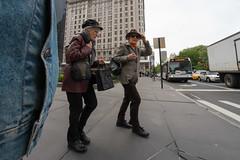 new york (pspyro2009) Tags: nyc ny newyork fuji manhattan candid wide streetphotography applestore fujifilm 5thave xe1 bower8mmf28fisheye