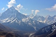 Ama Dablan avant d'arriver  Lobuche (StephanPeccini) Tags: trek himalaya npal