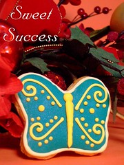 Butterfly (sweetsuccess888) Tags: cookies butterfly souvenir gift giveaway dessertbar sweetsuccess designercookies customizedcookies handcraftedcookies