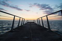 Sunset, Scaniabadet, Malmö