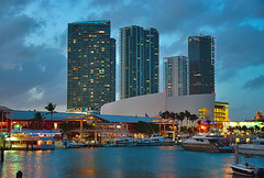The Heat Is On (DigitalLUX) Tags: architecture buildings bay miami dusk bayside marketplace urbanlandscape architecturaldetails urbanscene themiamiheat