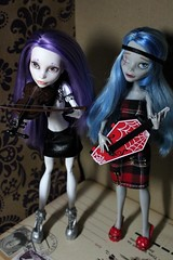 band 2 (Senseless Cactus) Tags: monster high ooak spectra ghoulia