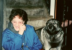 My Grandmother and Ilsa (Plaid Ninja) Tags: dog ilsa