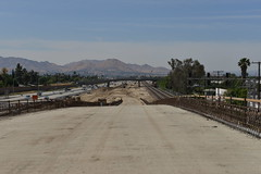 I-215 Widening Project - May 3, 2013 (I215news) Tags: freeway sanbernardino rados skanska i215 sanbag interstate215 i215wideningproject