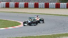 Rosberg / di Resta . 2013 GP F1 Spain. The race. DSC_6953 (antarc foto) Tags: barcelona españa india race de paul one mercedes spain nikon force grand f1 prix di formula catalunya nico tamron circuit formula1 vc usd w04 resta the 70300 montmeló rosberg formule d7000 vjm062013