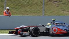 Pérez .  McLaren MP4-28 . 2013 GP F1 Spain. The race. DSC_6783 (antarc foto) Tags: barcelona españa sergio race de one mercedes spain nikon grand f1 prix mclaren formula vodafone catalunya tamron circuit formula1 fo vc usd the 70300 pérez montmeló – formule 2013 d7000 mp428 108z