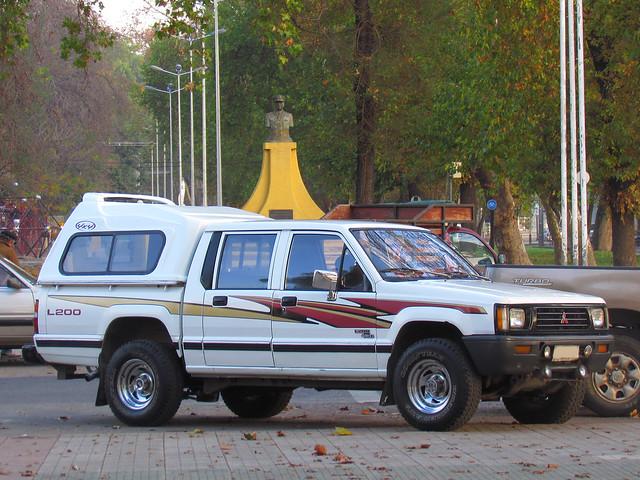 pickup mitsubishi pickuptrucks camionetas doublecabin crewcab mitsubishil200