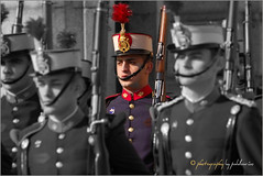 (0129/13) Soldado de la Guardia Real (Pablo Arias) Tags: madrid espaa spain colours gente retrato colores nikond50 hdr smrgsbord photomatix robados olequebonito greatmanipulart grouptripod oltusfotos goldenvisions pabloarias