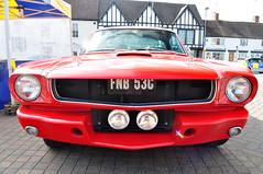 grrrrrrrrrr angry car (charlottehbest) Tags: red classic car classiccar angry headon 2013 charlottehbest