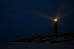 Texel light house @ Night (RB-P) Tags: lighthouse holland beach nederland thenetherlands texel