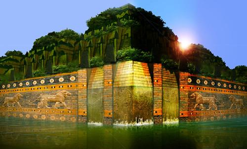 "Jardines colgantes de Babilonia • <a style=""font-size:0.8em;"" href=""http://www.flickr.com/photos/30735181@N00/8744287885/"" target=""_blank"">View on Flickr</a>"