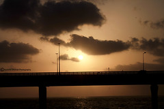 Worli Koliwada Village (FTP_eye) Tags: bridge light sunset sea sun india photography bombay link rays mumbai worli