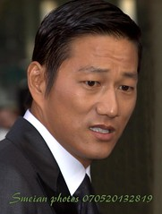 Sung Kang (iron_smyth48) Tags: red portrait man celebrity film face shirt hair carpet star eyes tie event jacket actor premiere celeb