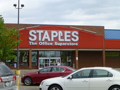 Staples in Wooster, Ohio (Fan of Retail) Tags: road ohio retail mall shopping center burbank stores staples wooster milltown 2013