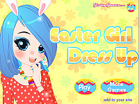 復活節女孩換裝(Easter Girl Dressing Up)