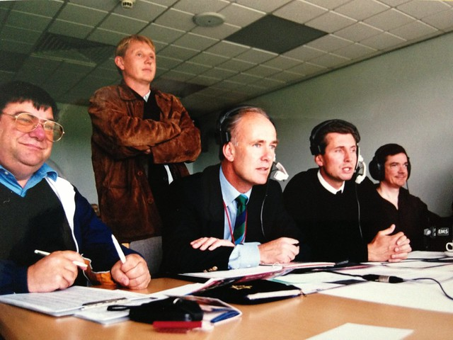 CricInfo Radio commentary team from 2001