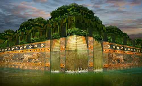 "Jardines colgantes de Babilonia • <a style=""font-size:0.8em;"" href=""http://www.flickr.com/photos/30735181@N00/8745404208/"" target=""_blank"">View on Flickr</a>"