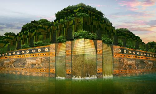 "Jardines colgantes de Babilonia • <a style=""font-size:0.8em;"" href=""http://www.flickr.com/photos/30735181@N00/8745404954/"" target=""_blank"">View on Flickr</a>"