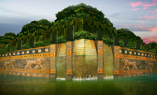 "Jardines colgantes de Babilonia • <a style=""font-size:0.8em;"" href=""http://www.flickr.com/photos/30735181@N00/8745405340/"" target=""_blank"">View on Flickr</a>"