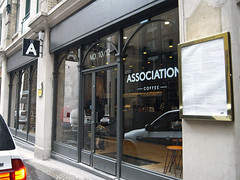 The Association Coffee @ Creechurch Lane, City of London (everydaylife.style) Tags: uk london cakes coffee modern lunch design cafe unitedkingdom interior thecity sandwich espresso pastries sandwiches   cityoflondon        flatwhite theassociation     creechurchlane