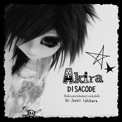 Akira (J-Rock dolls) Tags: music fashion japan japanese doll dolls ooak models customized akira pullip custom jrock kera pullips jpop  disacode