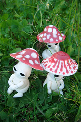 Mick-Oze the mushroom: toxic crew (The Maman Panda) Tags: pet cute mushroom doll artist bjd tendres chimeres