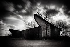 SoDa-Bridge (gambajo) Tags: longexposure bridge white black art dark deutschland natur dramatic himmel nordrheinwestfalen brücken langzeitbelichtung euskirchen bauwerke phonar phonarnation