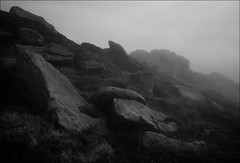 Rocks (Andy Stafford) Tags: mist fog canon rocks derwent peakdistrict 5d derwentedge 24105l