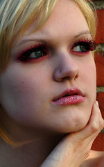 11 (RebeccaLynnPhotography8) Tags: pink portrait female photoshop makeup cannon expressive editing piercings artistry