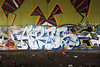 (Into Space!) Tags: street city urban art graffiti photo aires detroit graff piece tcp panek intospace intospaces