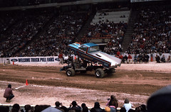 IMG_0057 (Nighthauler Photography) Tags: tractor cars truck pull meadowlands arena crushing bigfoot sled weight