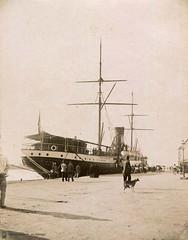 Puerto de Mlaga (Archivo Fotogrfico Municipal de Mlaga) Tags: puerto barcos mlaga