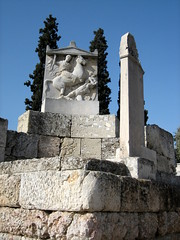 041 - Grave marker (Scott Shetrone) Tags: other graveyards events places athens greece 5th kerameikos anniversaries