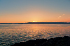 Clyde Sunset over the Isle of Bute. (Mark has snapped) Tags: sunset scotland ayrshire rothesay isleofbute argyllandbute a78