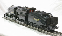 ErieL1_PF_07 (SavaTheAggie) Tags: train l1 power lego angus engine trains steam locomotive erie functions mallet articulated camelback 0880